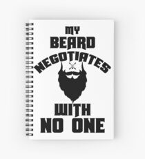 negotiate with no one  Spiral Notebook