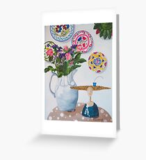 Still Life with Thomasina Greeting Card
