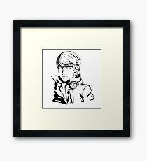 yu narukami  Framed Print