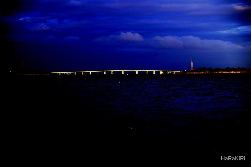 Bridge under a blue moon by HaRaKiRi
