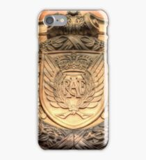 Royal Airforce Insignia at Edinburgh Castle  iPhone Case/Skin