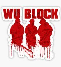 WU BLOCK Sticker