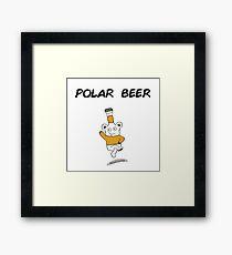 Polar Beer Framed Print