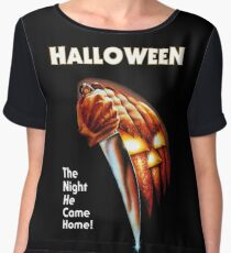 Halloween movie poster Chiffon Top