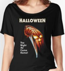 Halloween movie poster Women's Relaxed Fit T-Shirt