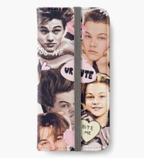 Leonardo DiCaprio Collage  iPhone Wallet/Case/Skin