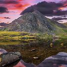 Tryfan Mountain Sunset by Adrian Evans