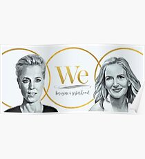 Gillian Anderson, Jennifer Nadel - We - PROCEEDS TO CHARITY! Poster