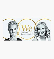 Gillian Anderson, Jennifer Nadel - We - PROCEEDS TO CHARITY! Photographic Print