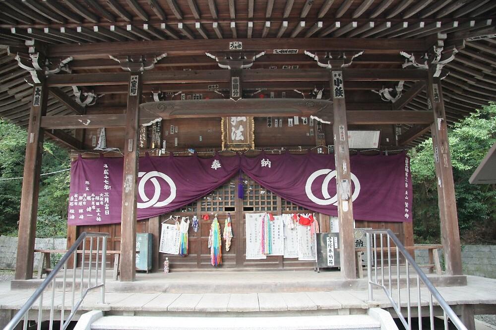 Hantaji (繁多寺) Temple - Matsuyama  by Trishy