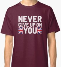 Lucie Jones - Never Give Up On You [2017, United Kingdom] Classic T-Shirt