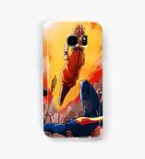 Goku vs Dc universe Samsung Galaxy Case/Skin