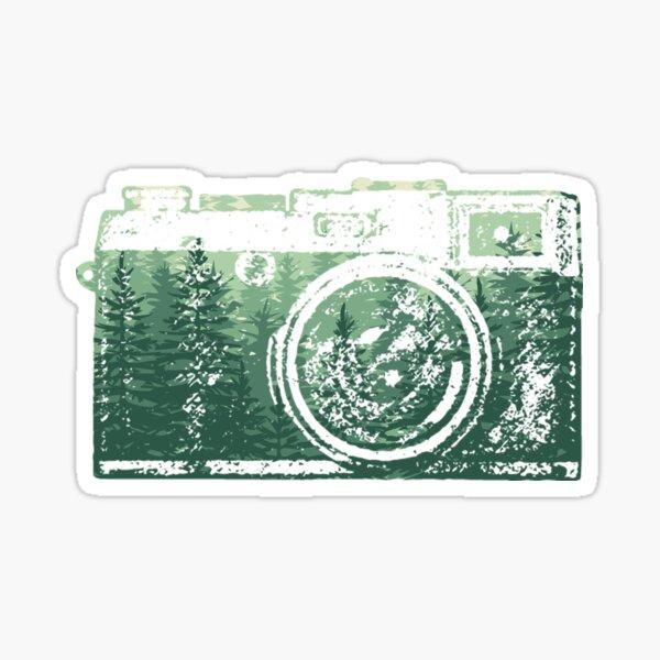 Forest Camera Sticker