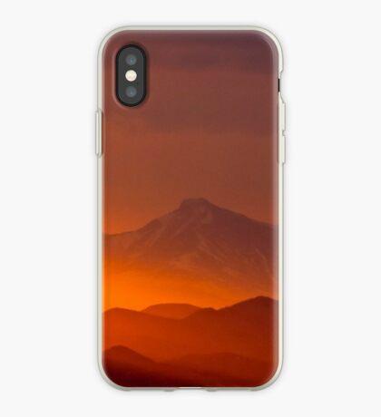 Rain Of Color On Longs Peak iPhone Case