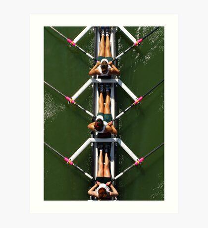 Rowers Art Print