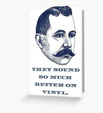 Stuff Hipsters Say Greeting Card