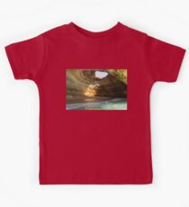 Sea Cave Sunlight - the Iconic Benagil Natural Wonder Kids Clothes