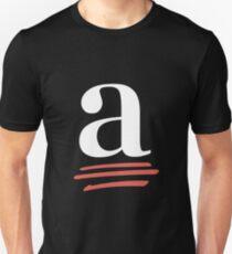 ACES white logo Unisex T-Shirt