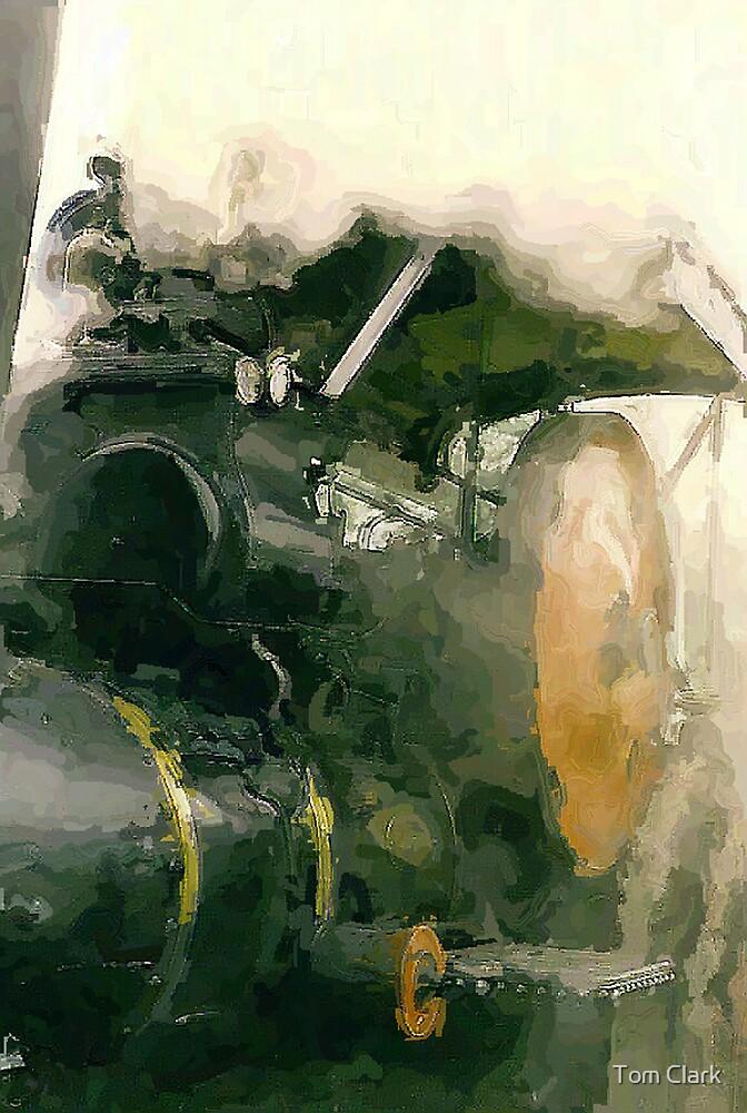 Steam Roller. by Tom Clark