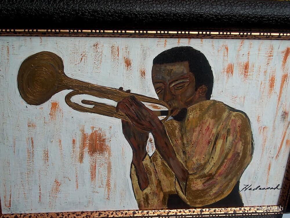 Miles Davis by Hadassah