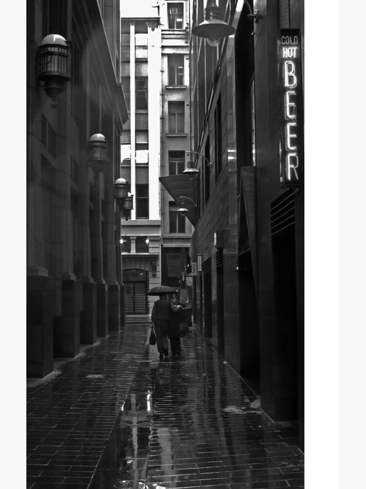 Rainy Lane by sparrowhawk