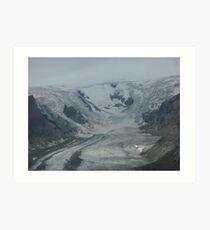 Glacier in Austria Art Print