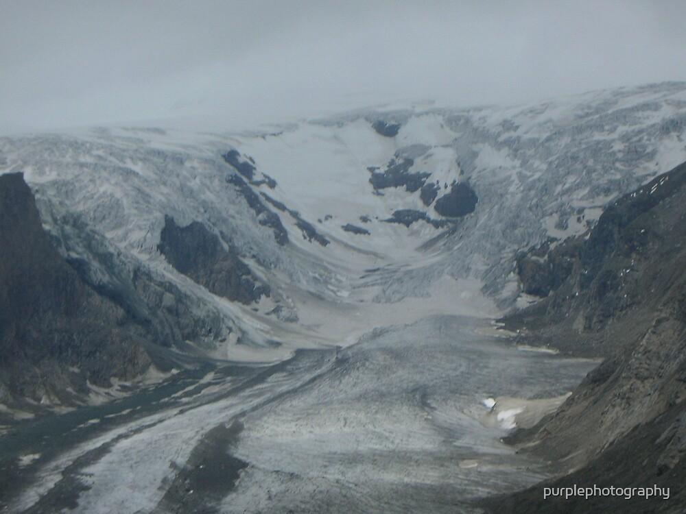 Glacier in Austria by purplephotography