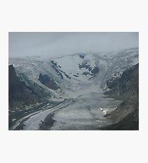 Glacier in Austria Photographic Print