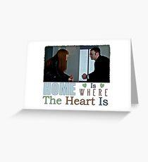 Fringe - Fauxlivia & Lincoln Greeting Card