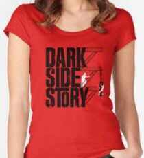 Dark Side Story Women's Fitted Scoop T-Shirt