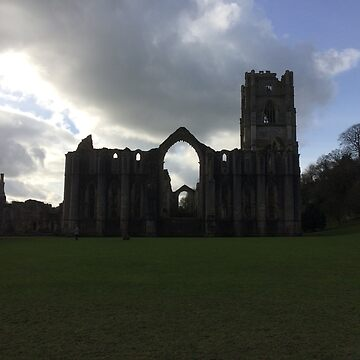 Fountains Abbey by Ninjella