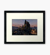 Skyrim Whiterun Framed Print