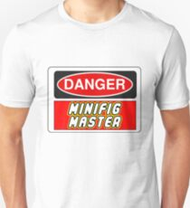 Danger Minifig Master Sign Unisex T-Shirt