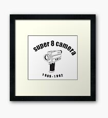 Super 8 Camera Framed Print