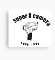 Super 8 Camera Canvas Print