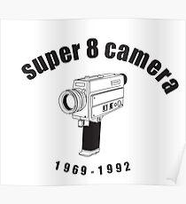 Super 8 Camera Poster