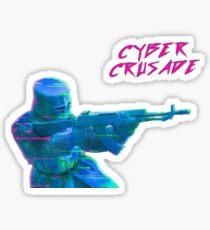Cyber Crusade 2 Sticker