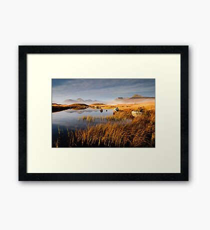 The Blackmount Framed Print