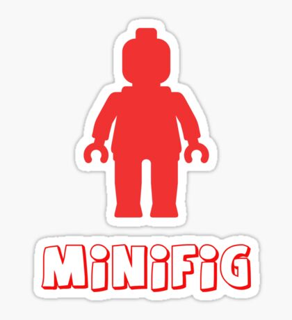 Minifig [Red], Customize My Minifig Sticker