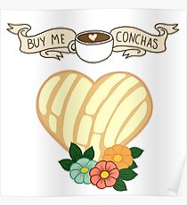 Buy me conchas Poster