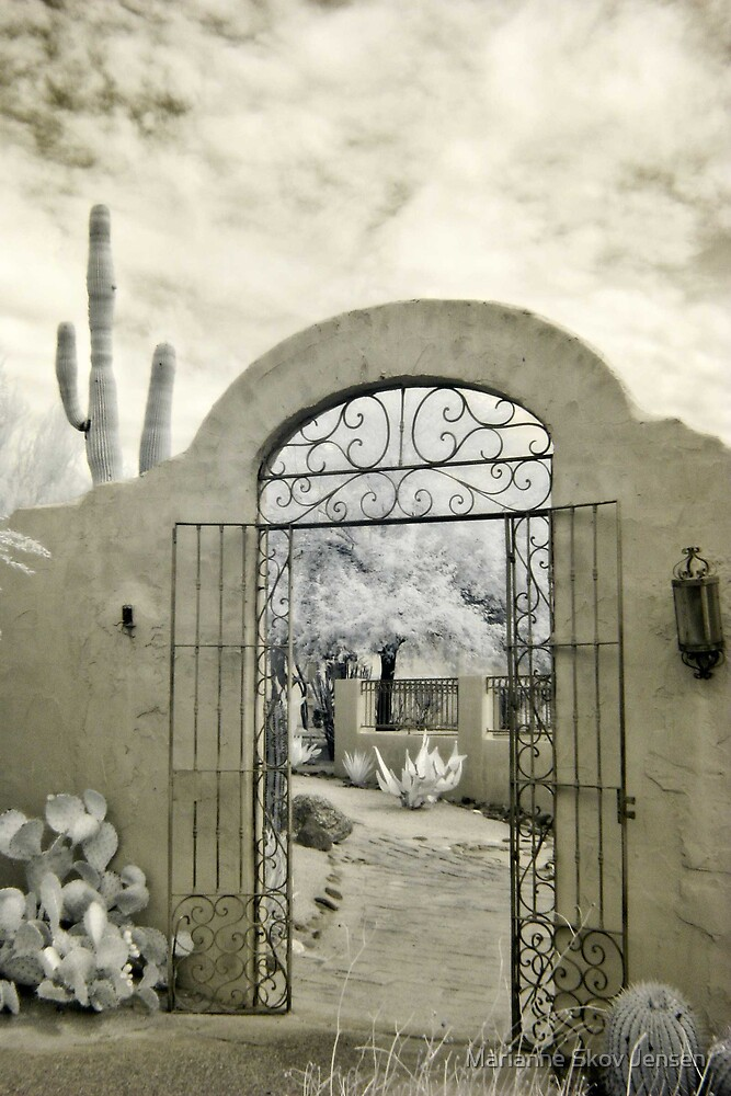 Garden Entrance by Marianne Skov Jensen