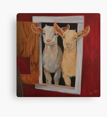 Goats of Anarchy Canvas Print
