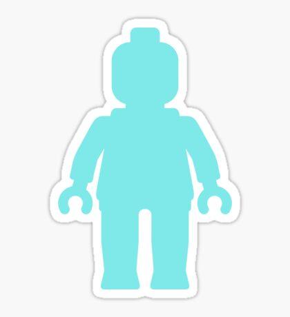 Minifig [Large Light Blue], Customize My Minifig Sticker