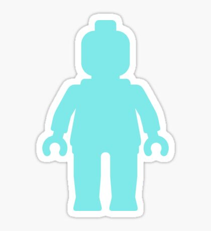 Minifig [Large Light Blue], Customize My Minifig Sticker