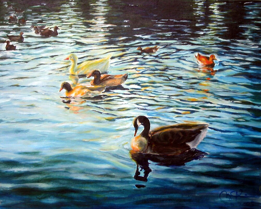 Goose by menqtsai