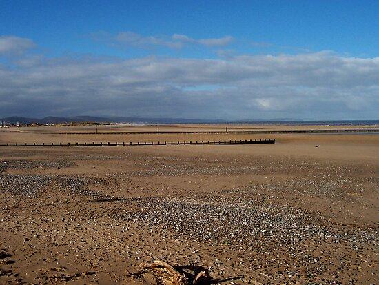 Beach at Rhyl 2 by JImage