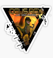 Deus-Rex: Jurassic Divided Sticker