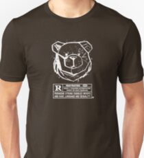 ROBUST BEAR RESTRICTED WHITE T-Shirt