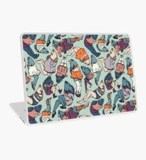 Peppy Springtime Legfish Pattern (Muted Complementaries) Laptop Skin
