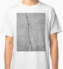 BROKEN SIDEWALK (Damaged) Classic T-Shirt